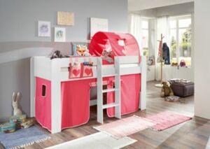 Betttasche Hoch- & Etagenbett, Herz, pink/rosa Kinder