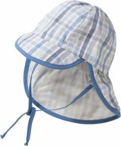 Baby Sonnenhut mit Nackenschutz zum Binden mit UV-Schutz 50+ Gr. 47 Jungen Baby