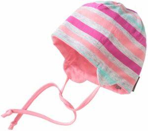 Baby Beanie zum Wenden mit UV-Schutz 50+ Gr. 45 Mädchen Baby