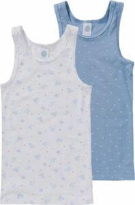 Unterhemden Doppelpack Gr. 92 Mädchen Kleinkinder