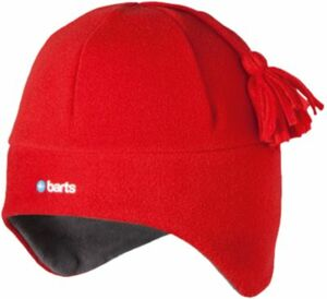 BARTS Kinder Mütze NILFIX Gr. 53, rot