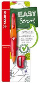 STABILO EASYergo 3.15 orange/rot für Rechtshänder
