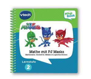 Vtech MagiBook Mathe mit PJ Masks Lernstufe 2