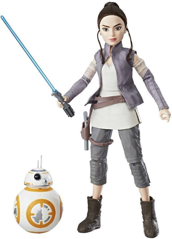 Star Wars Die Mächte des Schicksals Rey und BB-8