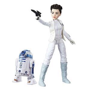 Star Wars Die Mächte des Schicksals Leia und R2D2