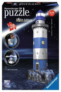 Ravensburger 3D Puzzle Leuchtturm bei Nacht