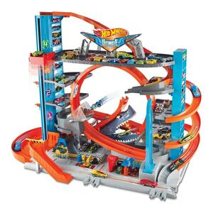 Hot Wheels Ultimate Garage mit Haiangriff