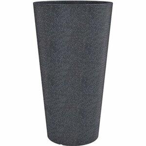 Scheurich Pflanzgefäß Cana High Ø 28,5 cm x 55 cm Schwarz Granit