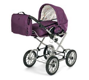 BRIO Puppenwagen violett