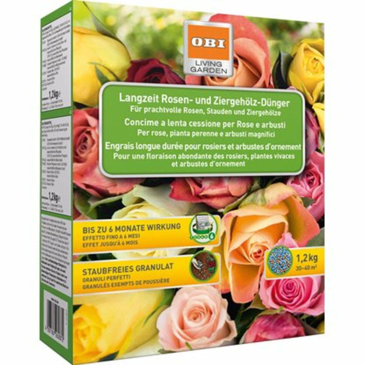 Bild 1 von OBI Langzeit Rosen- und Ziergehölz-Dünger 1,2 kg