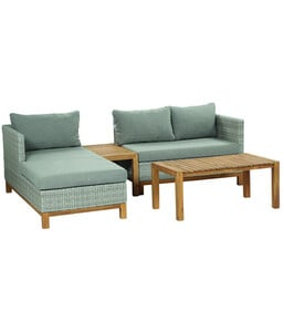 Siena Garden Lounge-Set Ohio, 4-teilig