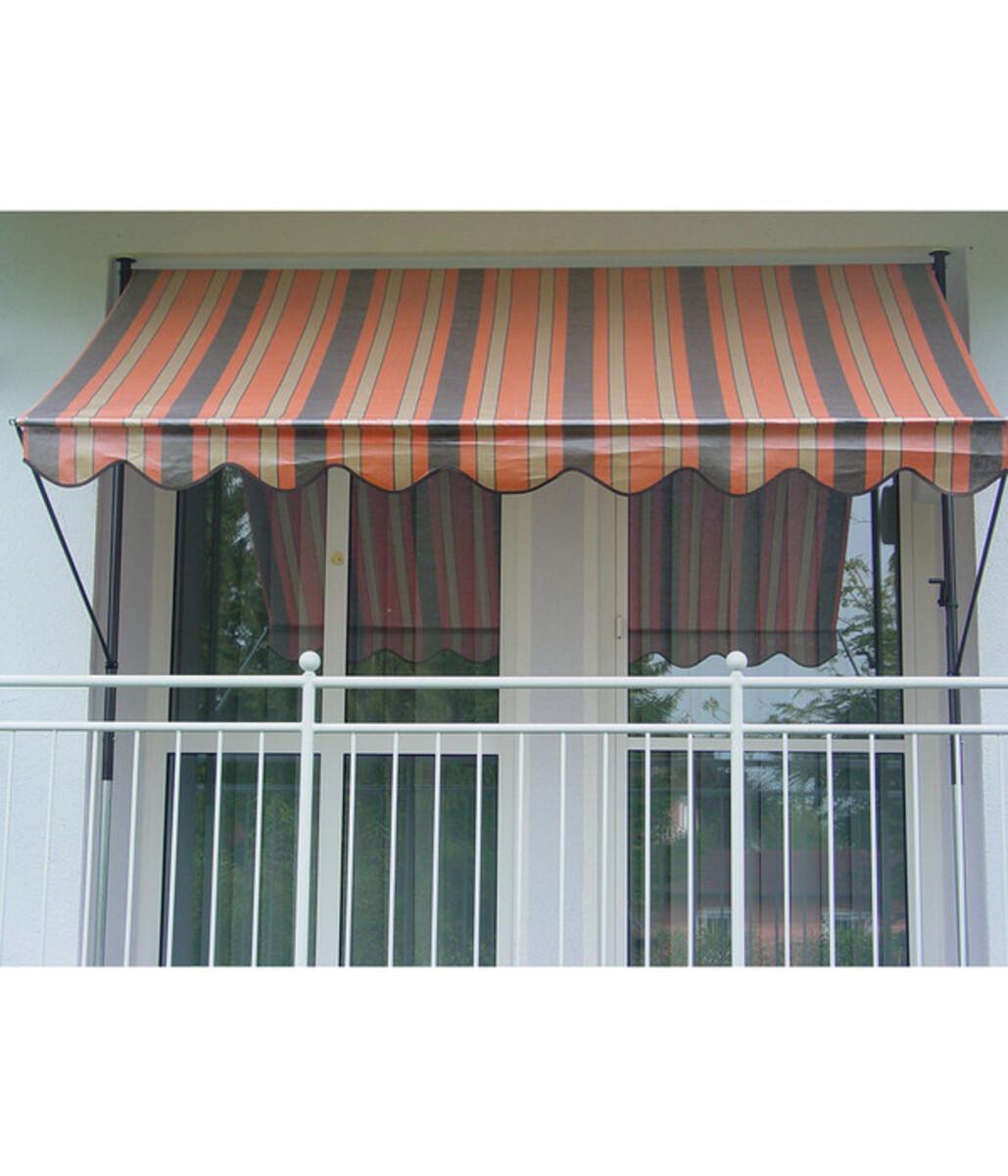 Bild 1 von Angerer Klemmmarkise orange-braun, unterschiedliche Breiten