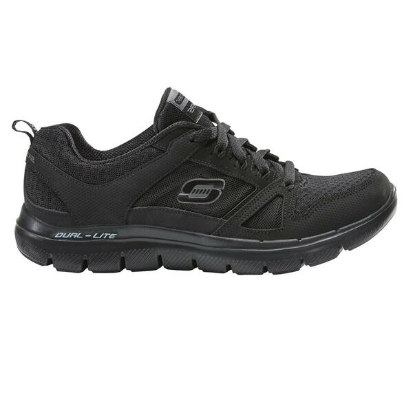 Walkingschuhe Flex Dual Lite Damen schwarz