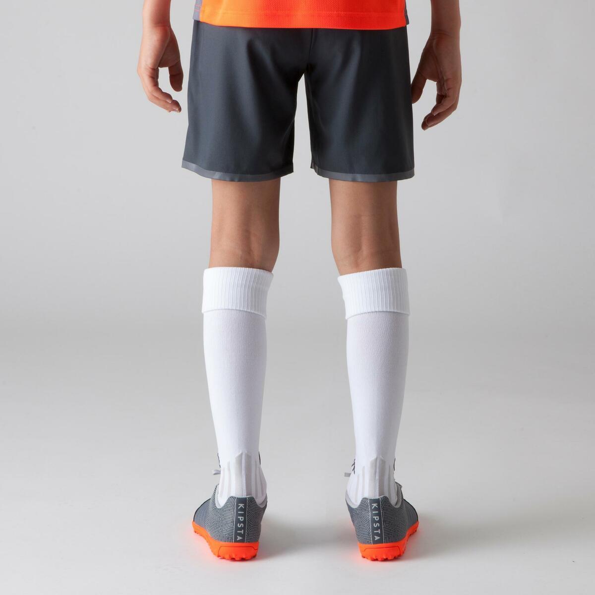 Bild 4 von Fußballshorts F500 Kinder grau/orange