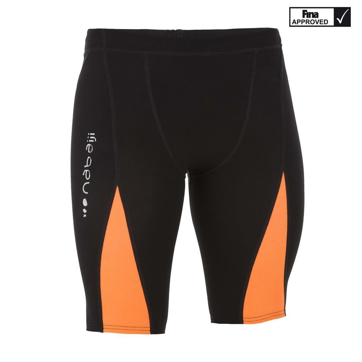 Bild 1 von Badehose Jammer Fina 900 Fast Wettkampf Herren schwarz/orange
