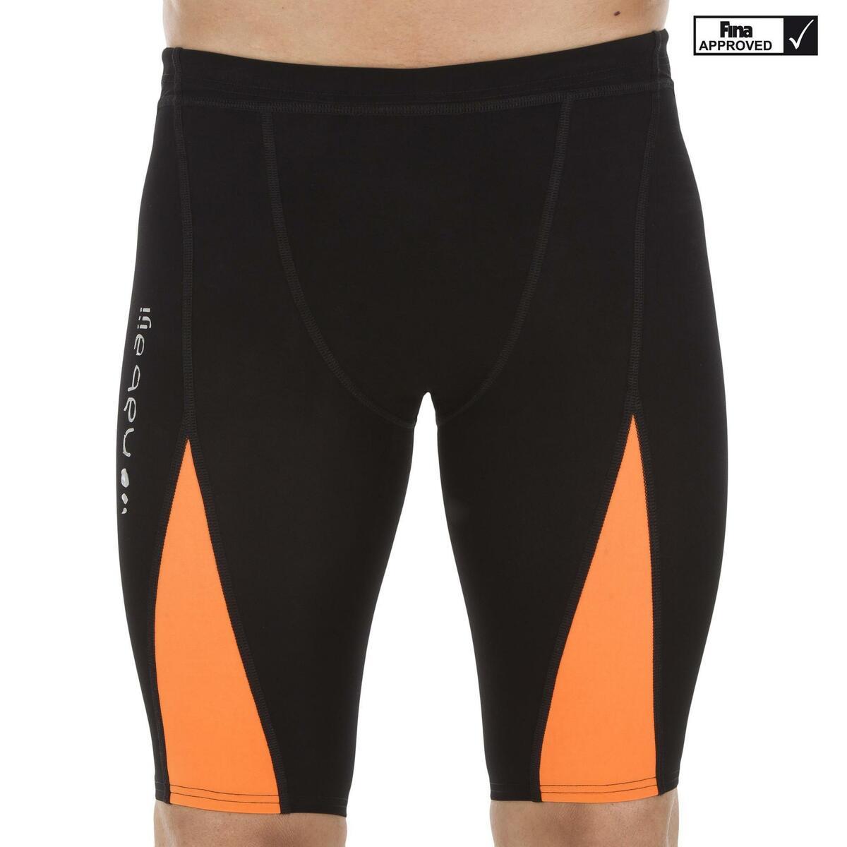 Bild 2 von Badehose Jammer Fina 900 Fast Wettkampf Herren schwarz/orange