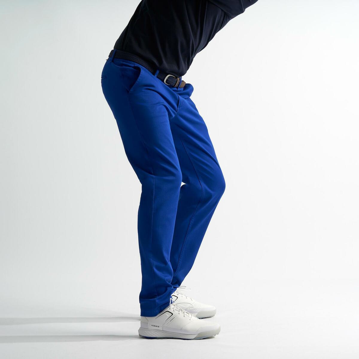 Bild 2 von Golfhose Herren blau