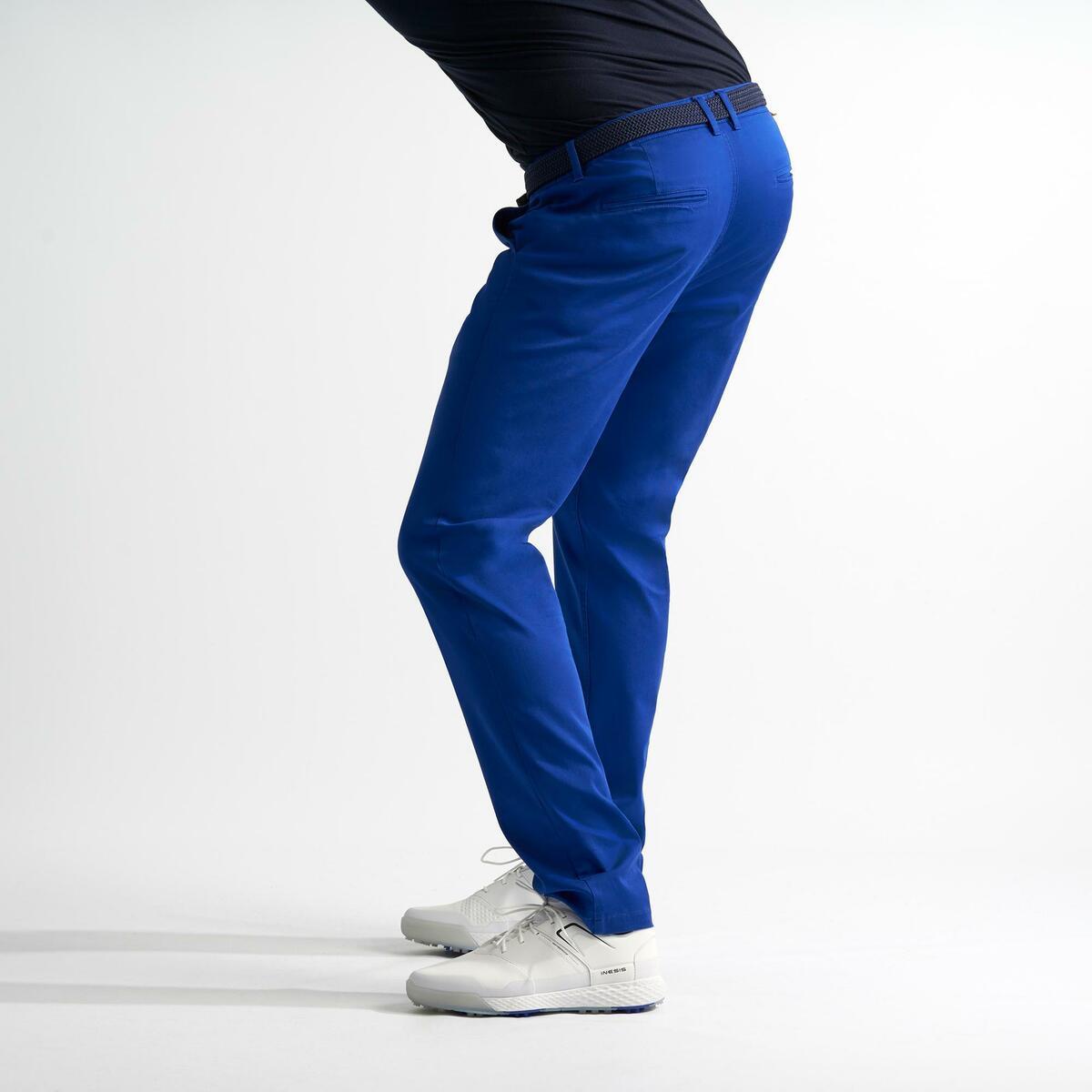 Bild 4 von Golfhose Herren blau