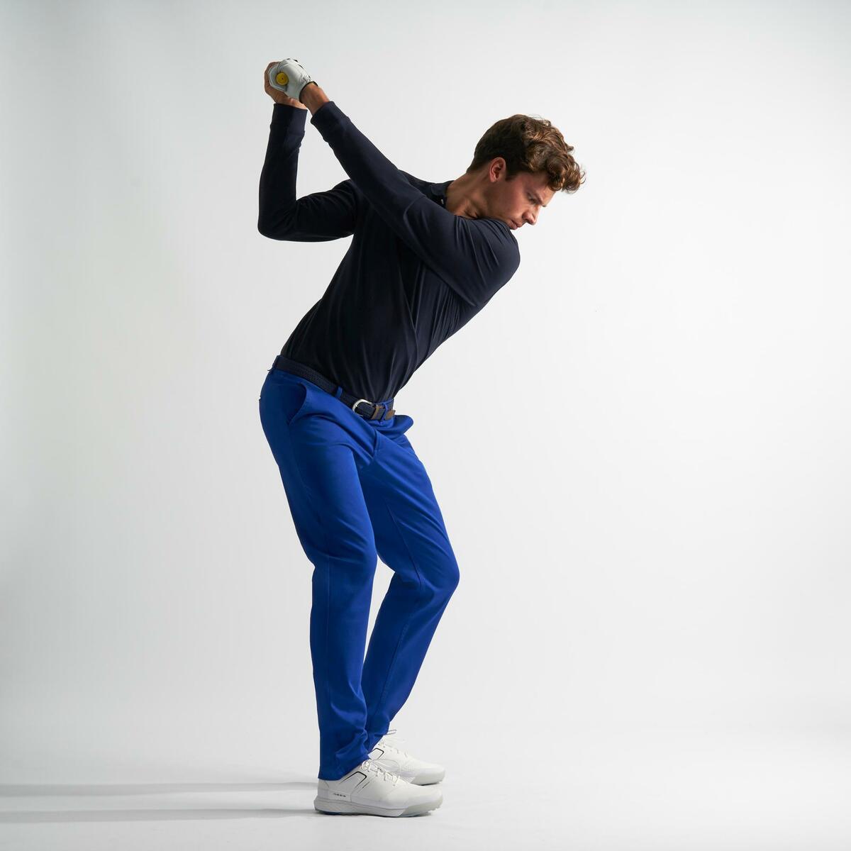 Bild 5 von Golfhose Herren blau