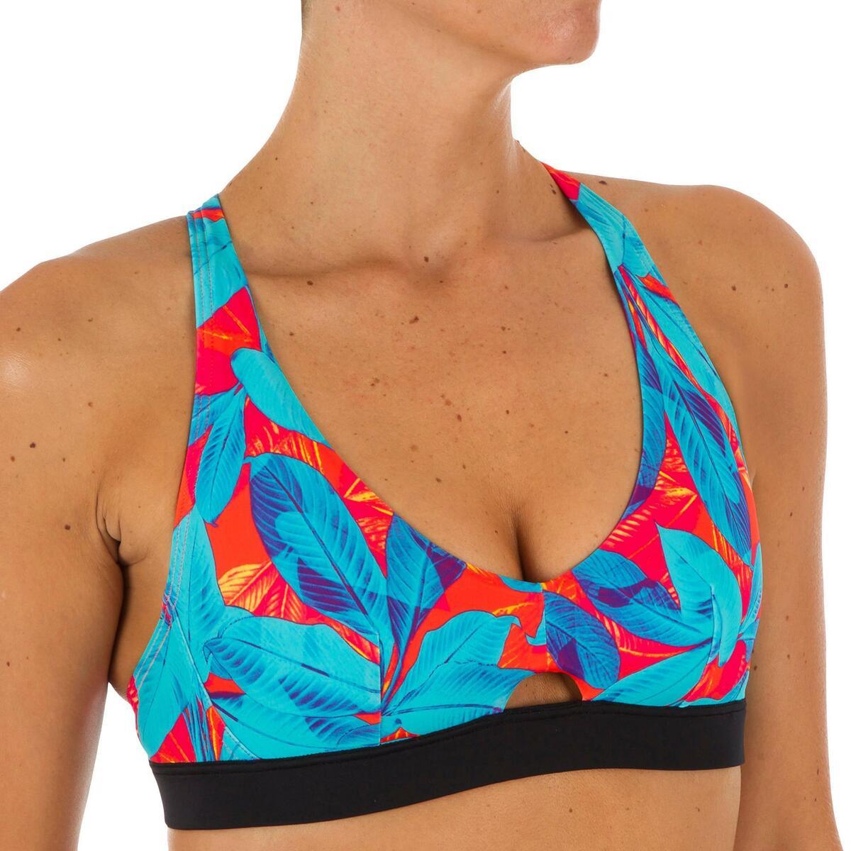 Bild 3 von Bikini-Oberteil Bustier Agatha Walis Rücken doppelt verstellbar Damen