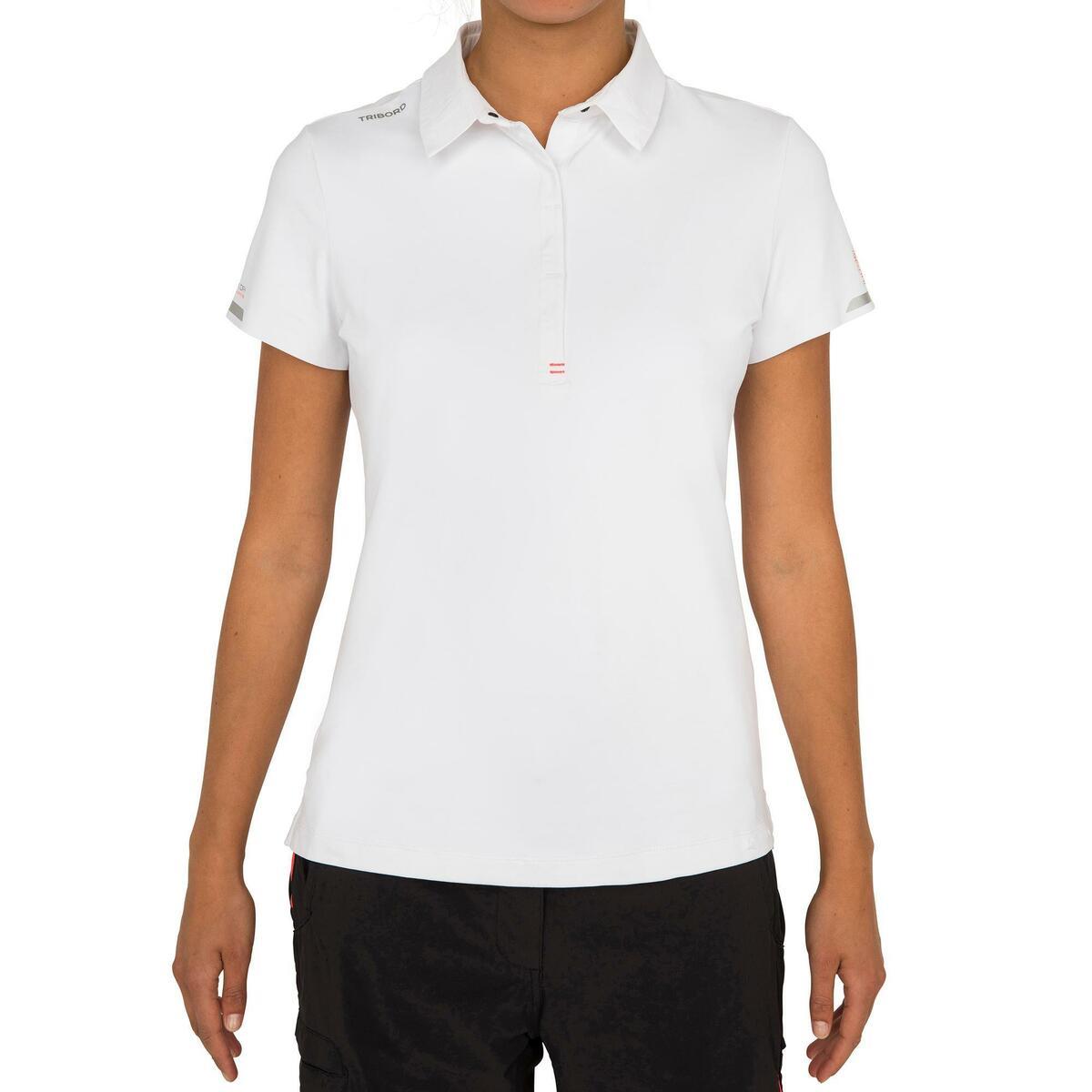 Bild 2 von Poloshirt kurzarm Segeln Race Damen weiß