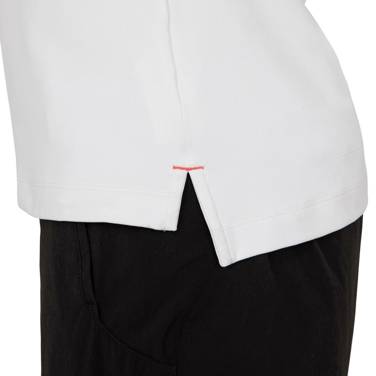 Bild 5 von Poloshirt kurzarm Segeln Race Damen weiß