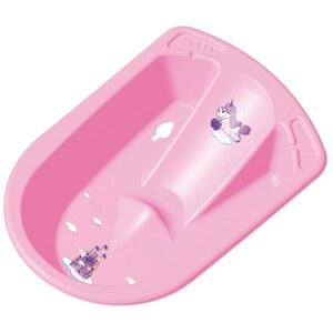 Keeeper – Anatomische Badewanne Einhorn, rosa