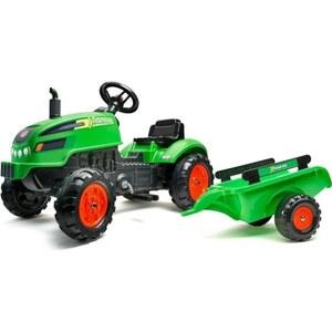 Falquet & Cie - Traktor mit Anhänger, grün