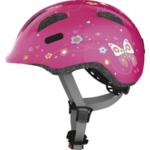 ABUS - Fahrradhelm Smiley 2.0 Gr. S, Pink Butterfly