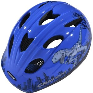 Cratoni - Fahrradhelm Cookie Dino, M, blau
