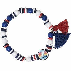 Jewellery Made by Me Mini Perlen Armband Set blau-rot