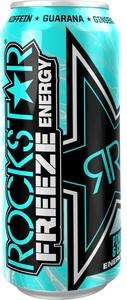 Rockstar Freeze Pineapple & Coconut Energydrink 0,5 ltr