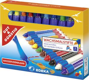 EDEKA Wachsmalstifte 10 Stück
