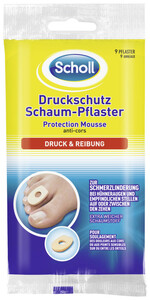 Scholl Druckschutz Schaum-Pflaster 9 Stück