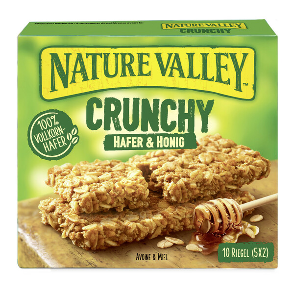 Nature Valley Crunchy Hafer & Honig Riegel 5x 42 g