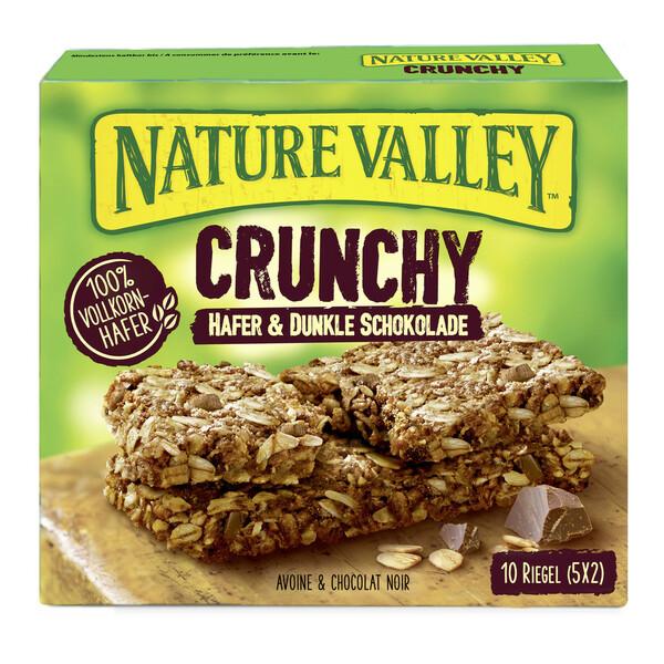 Nature Valley Crunchy Hafer & Dunkle Schokolade Riegel 5x 42 g