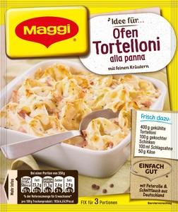 Maggi Idee für Ofen-Tortelloni alla panna 36 g