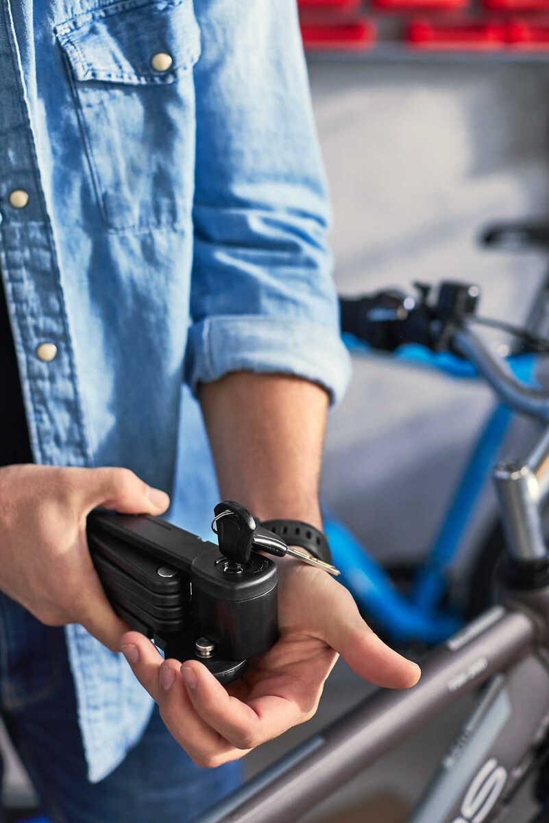 Bild 3 von NEWLETICS®  Fahrrad-Faltschloss