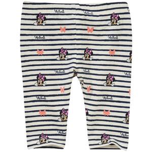 Minnie Maus Capri-Leggings im Streifen-Look