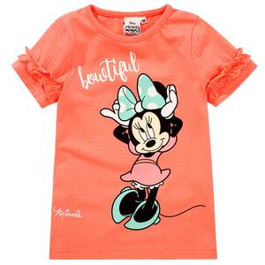Minnie Maus T-Shirt mit Rüschen