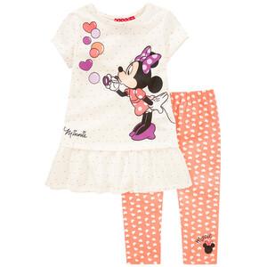 Minnie Maus T-Shirt und Capri-Leggings im Set