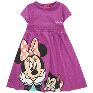 Minnie Maus Kleid mit gesmoktem Einsatz