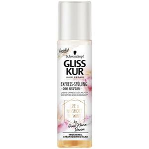 Gliss Kur Express-Spülung LIFE IS TOO SHORT TO WAIT by 1.00 EUR/100 ml