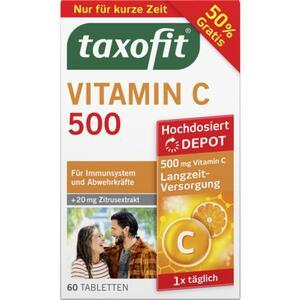 taxofit Vitamin C 500 Tabletten 9.24 EUR/100 g