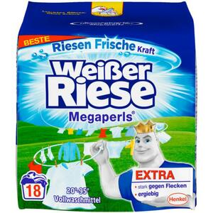 Weißer Riese Megaperls 18 WL 0.18 EUR/1 WL