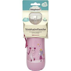 Babydream Trinkhalmflasche rosa