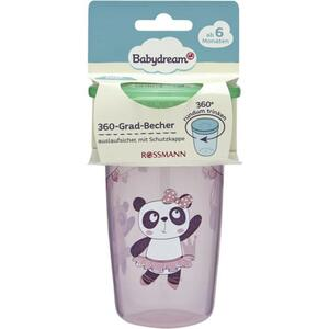 Babydream 360-Grad-Becher rosa