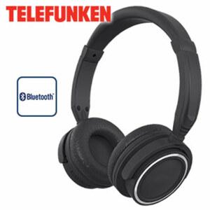 Stereo-Bluetooth®-Kopfhörer KH6000B für kabellose Musikübertragung vom Smartphone oder Tablet-PC, USB-Anschluss, integr. Li-Polymer-Akku