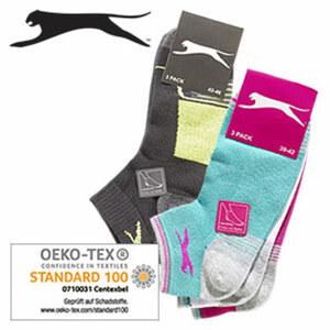 Damen- oder Herren-Sneakersocken Netzteil für perfekte Luftzirkulation, Größe: 35/38 - 43/46, 3er-Pack, je