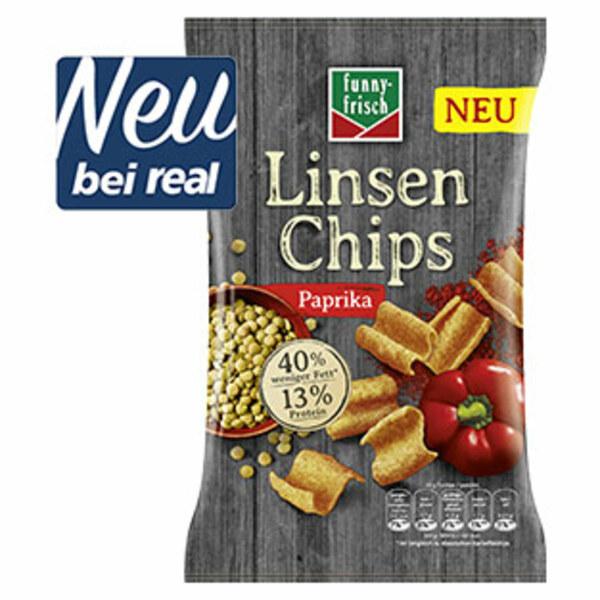 Funny Frisch Linsen Chips versch. Sorten, jeder 90-g-Beutel